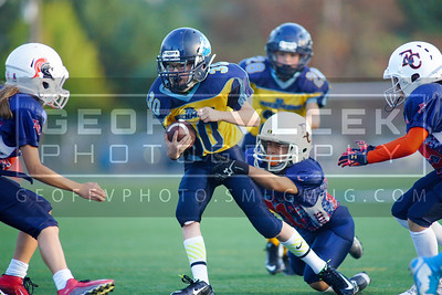 9/19/15- Eastside Catholic at Richmond Gold- Peewee
