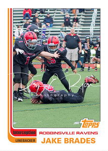 Topps - Jake Interception