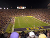 Tiger stadium filled to the brim as usual. Kickoff.