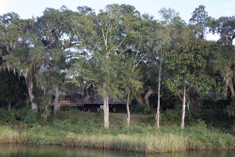 Dream house hidden behind the spanish moss drapes