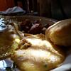 boudin omelete