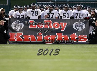 Le Roy Oatkan Knights v. Wayland Cohocton Eagles (Sectionals) 11-8