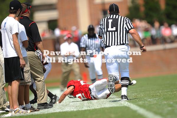 DAVIDSON, NC - Davidson football falls to Lenoir Ryne.
