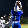 Arlee Gilot hauls in another pass for Leominster.