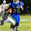 Justus-Tyler Reynolds carries the ball for Leominster.