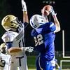 Dorian O'Brien hauls in a pass during fourth quarter action for a touchdown<br /> putting Leominster on the board for 6 points.