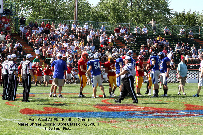 East-West All Star Football Game <br /> Maine Shrine Lobster Bowl Classic 7-23-11