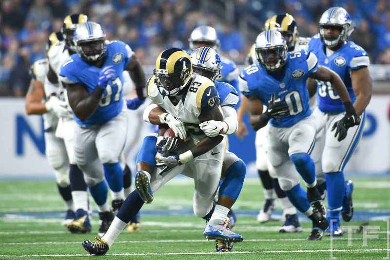 NFL: Los Angeles Rams at Detroit Lions