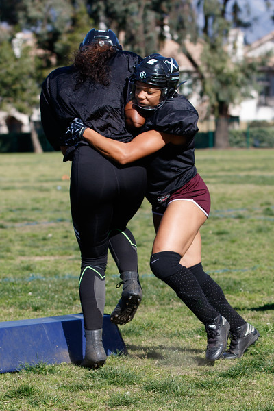 2019 Los Angeles Temptation Practice (3/16/2019)