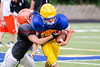 MHS Football Scrimmage vs Waynesville 2016-8-9-14