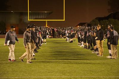 MIT football senior night 2015