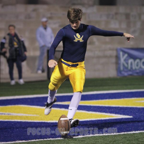 Kicker John Pittman #13