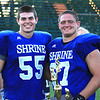 Matthew Thomas McLean 55 Windham Graduate and Luke Libby Thornton Academy Graduate. Both Frank J Gaziano Lineman Award Winners 2011-12.  Luke won The Outstanding Trophy for the West Side. Congratulations to you both. You are Amazing in so many ways. We wish you both continued success & happiness.