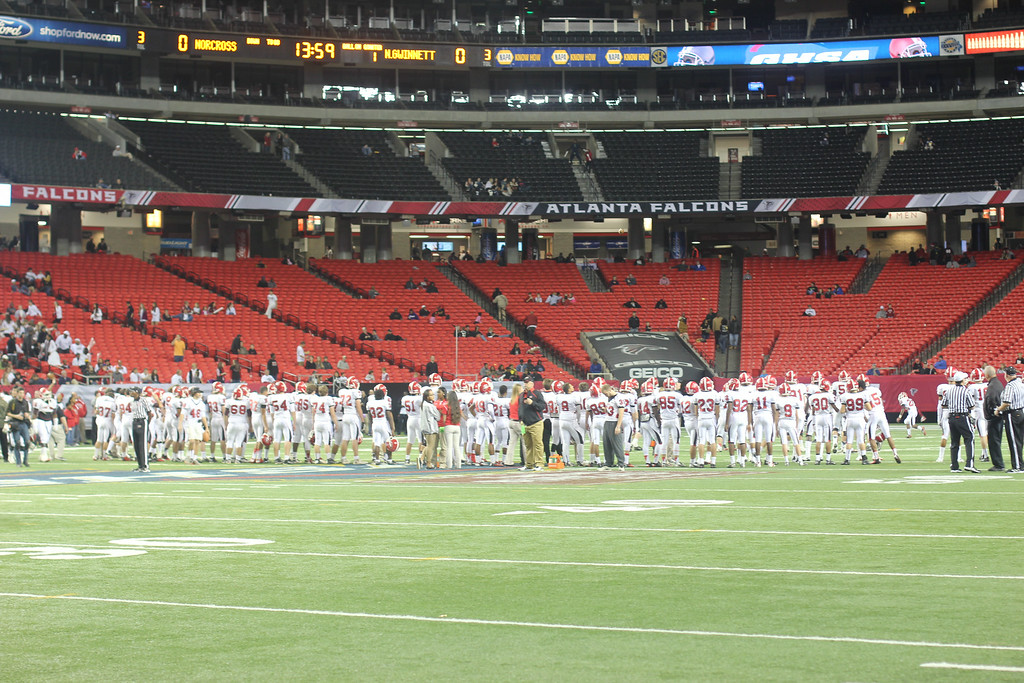 Single A Public School GHSA State Championship Game. December 14, 2013<br /> Photograph Taken by Chris Ballard