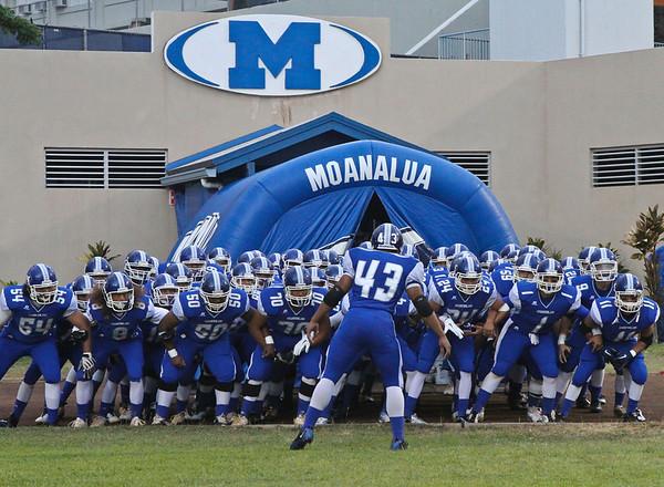 Moanalua vs Damien 8/19/2011
