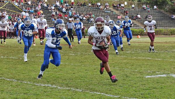 Moanalua vs Farrington JV 10/7/2011