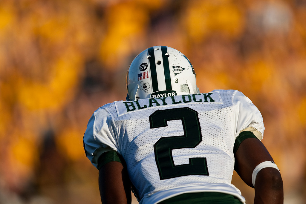 7 November 2009: Baylor corner Romie Blaylock (2) during the Baylor Bears 40-32 win over the Missouri Tigers at Memorial Stadium in Columbia, Missouri.