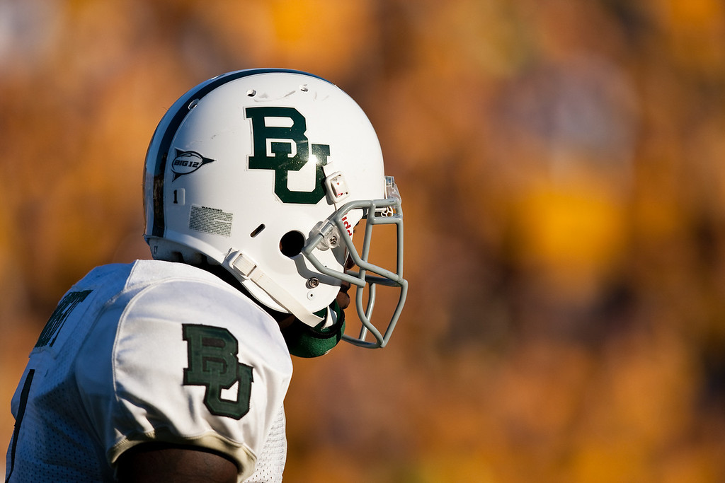 7 November 2009: Baylor wide receiver Kendall Wright (1) during the Baylor Bears 40-32 win over the Missouri Tigers at Memorial Stadium in Columbia, Missouri.