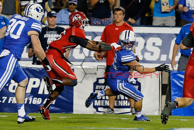 NCAA Football: Utah at Brigham Young