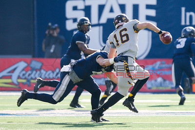 NCAA Football: Wyoming at Utah State