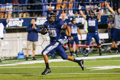 NCAA Football: Weber State at Utah State