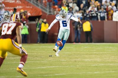 Cowboys Edge Redskins on Late Field Goal