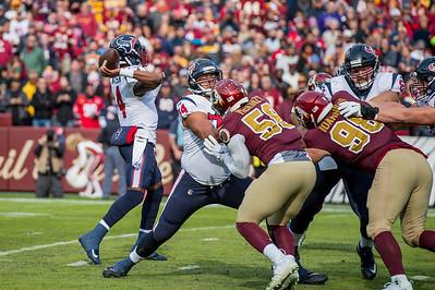 Washington's postseason hopes are thrown into doubt following the defeat and Smith's broken leg.