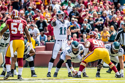 Eagles defense dominates Washington in season-opening win