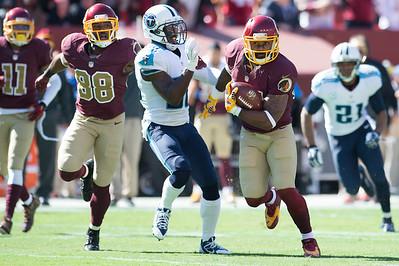 Redskins Squeak By Titans 19 - 17
