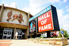 Aug 4, 2012; Canton, OH, USA; A general view of the entrance at the Pro Football Hall of Fame before the 2012 enshrinement at Fawcett Stadium. Mandatory Credit: Tim Fuller-US PRESSWIRE