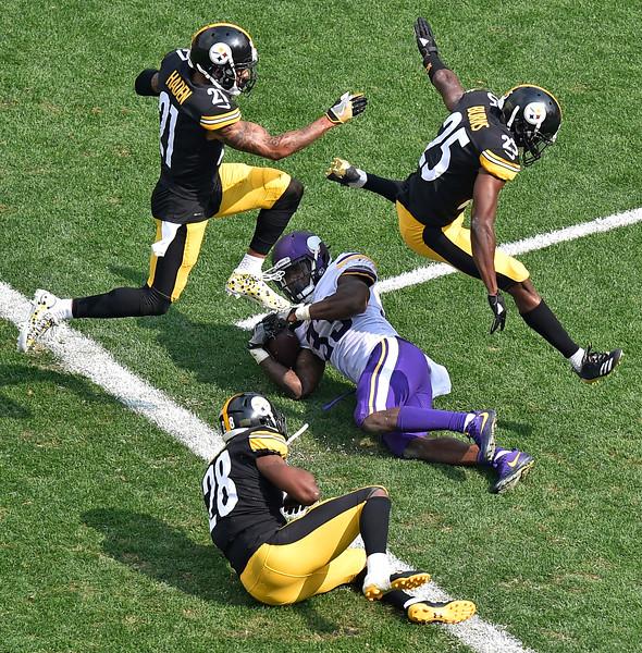 APTOPIX Vikings Steelers Football