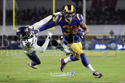 NFL 2019: Seahawks vs Rams DEC 08