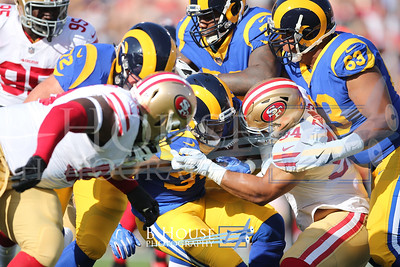 NFL 2017: 49ers vs Rams DEC 31