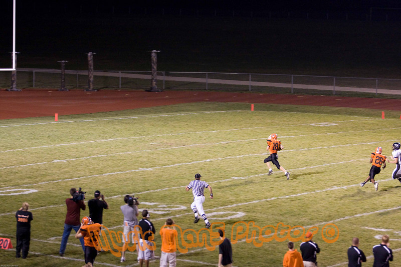 Running back the opening kickoff!