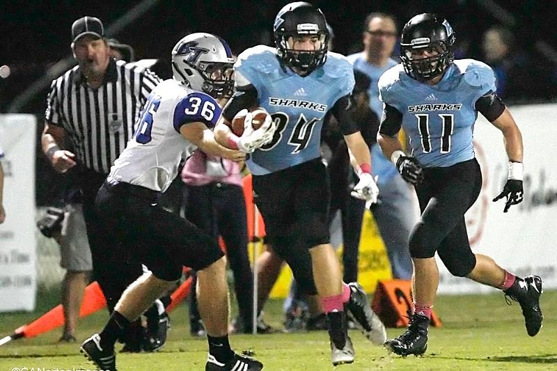 PVHS Football vs Bartram Trail 10/9/15