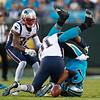 APTOPIX Patriots Panthers Football
