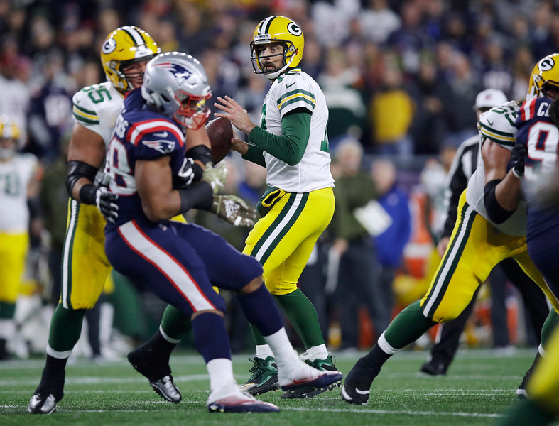 Packers Patriots Football