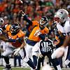 Patriots Broncos Footall