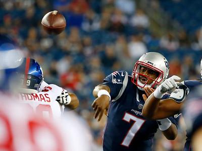 Patriots vs. Giants, 083117