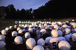 DAVIDSON, NC - Davidson football team gets up early for practice.