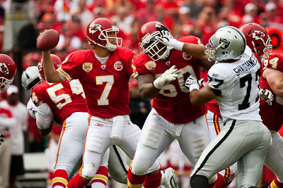 NFL: Raiders at Chiefs : 9/20/2009