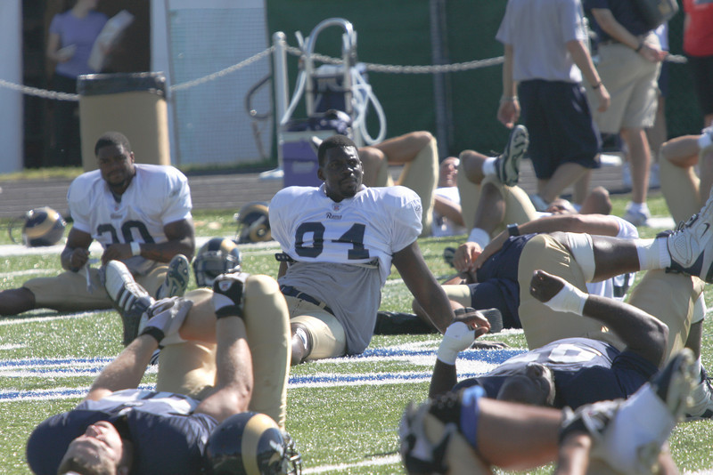 Rams Training Camp 8-08-45