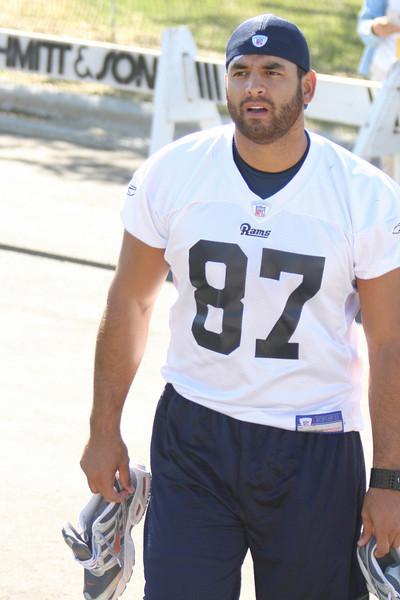 Rams Training Camp 8-08-11