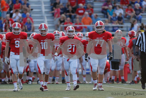 during the game between Roncalli vs Plainfield at Plainfield  High School in Plainfield,IN. (Jeff Brown/Flyer Photo)