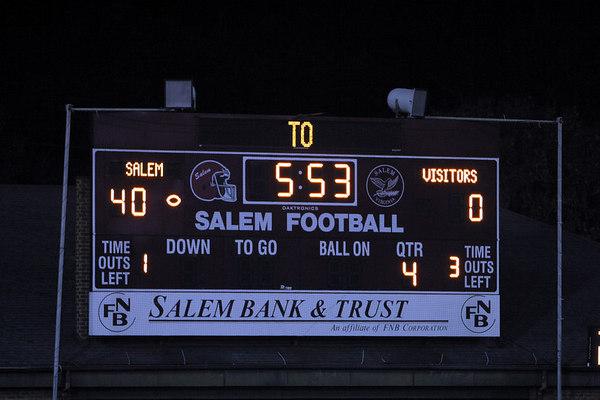 Salem vs Christiasnsburg Homecoming 20061013