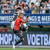 03-04-2016: Voetbal: NEC v Vitesse: Nijmegen <br /> <br /> Nathan de Souza of Vitesse, Gregor Breinburg from NEC<br /> <br /> Fotograaf Andy Astfalck<br /> <br /> Eredivisie Seizoen 2015-2016<br /> NEC v Vitesse