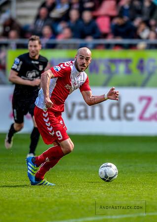 10-04-2016: Voetbal: FC Utrecht v NEC: Utrecht  Ruud Boymans from Utrecht  Fotograaf Andy Astfalck Eredivisie seizoen 2015/2016 Utrecht - NEC