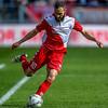 10-04-2016: Voetbal: FC Utrecht v NEC: Utrecht<br /> <br /> Nacer Barazite from Utrecht<br /> <br /> <br /> Fotograaf Andy Astfalck<br /> Eredivisie seizoen 2015/2016 Utrecht - NEC
