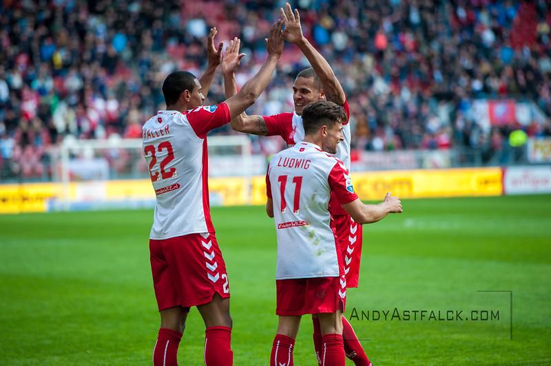 10-04-2016: Voetbal: FC Utrecht v NEC: Utrecht    Fotograaf Andy Astfalck Eredivisie seizoen 2015/2016 Utrecht - NEC