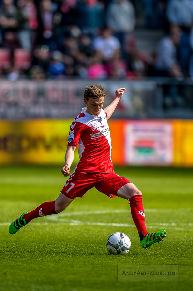 10-04-2016: Voetbal: FC Utrecht v NEC: Utrecht  Rico Strieder from Utrecht   Fotograaf Andy Astfalck Eredivisie seizoen 2015/2016 Utrecht - NEC